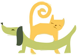 Ultrasonic Waves Don't Bother Cats and Dogs