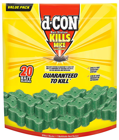 D-Con Bait Station - the Best Mouse Poison for Getting Rid of Mice?
