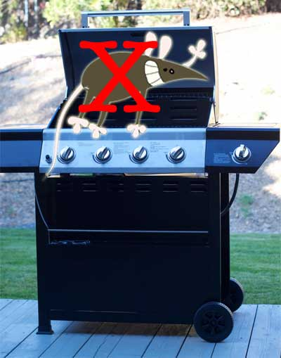 How to Keep Mice Out of Grill