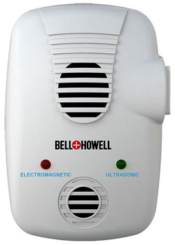 Bell and Howell Untrasonic Pest Control with Electromagnetic Technology and Extra Plug Outlet